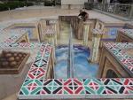In 3D street art - Edgar Muller - Abu Dhabi