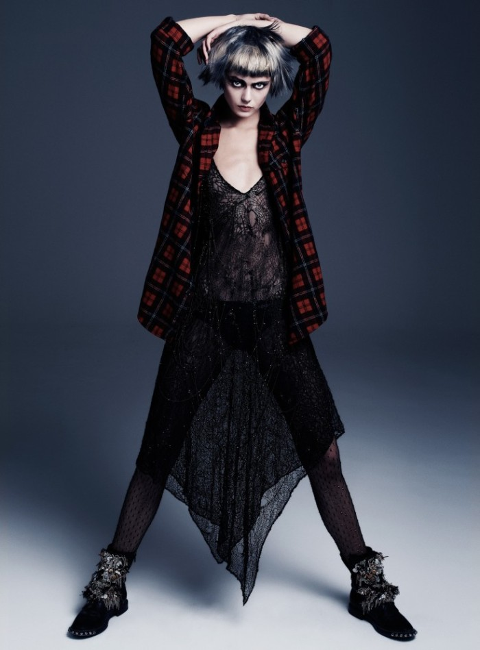 Frida-Gustavsson-by-Steven-Pan-Punk-Attitude-Flair-6-Fall-2013-11-735x997