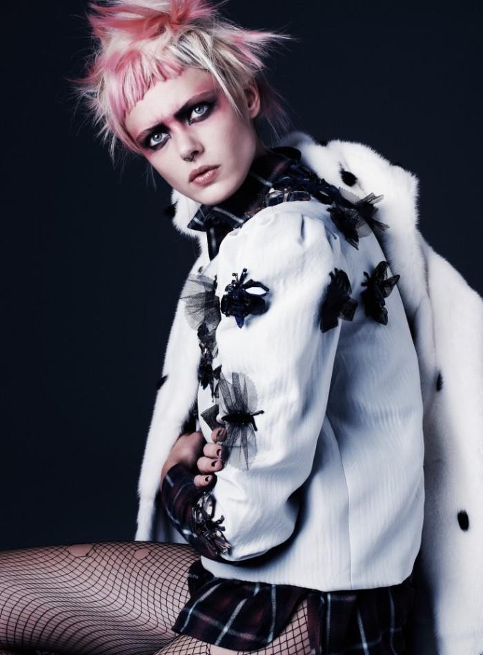 Frida-Gustavsson-by-Steven-Pan-Punk-Attitude-Flair-6-Fall-2013-3-735x997