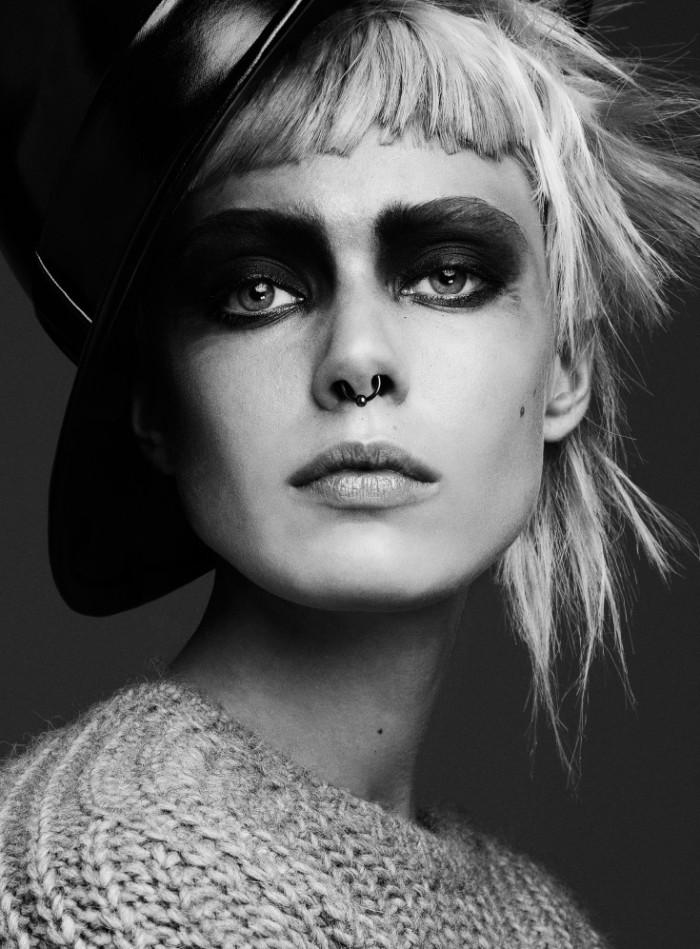 Frida-Gustavsson-by-Steven-Pan-Punk-Attitude-Flair-6-Fall-2013-8-735x997