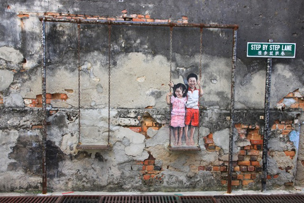 Street-Art-by-Ernest-Zacharevic-in-Penang-Malaysia-3462